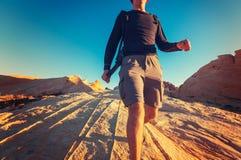 Wanderung in Utah Lizenzfreie Stockfotografie