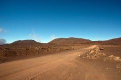 Wanderung zum Kletterhaken de la Fournaise Lizenzfreies Stockfoto