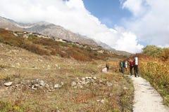 Wanderungs-Weg in India-5 Stockfotografie