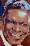 Wandgemälde Hollywood-Jazz 1945-1972 Stockbild