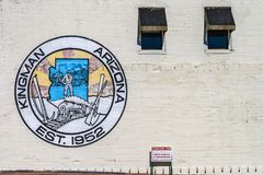 Wandgemälde von Kingman, Arizona Stockbilder