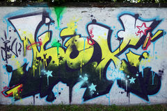 Wandgraffiti Stockfotos