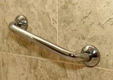 Wandgriff im Badezimmer Lizenzfreie Stockbilder
