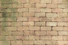 Wandhintergrund des Ziegelsteines stockbilder