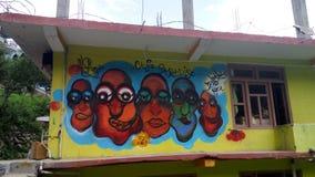 Wandkunst stockbilder