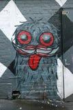 Wandkunst an AC-/DCweg in Melbourne Lizenzfreie Stockfotografie