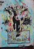 Wandkunst bei Houston Avenue in Soho Lizenzfreie Stockfotografie