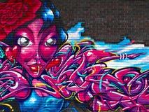 Wandmalerei Stockbild