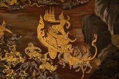 Wandmalerei Stockfoto