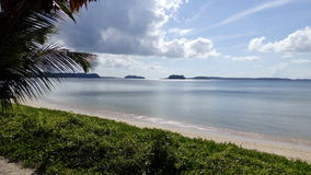 Wandoor plaża, Portowy Blair, India Obrazy Royalty Free