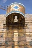 Wandschrank Dhau Oman Stockbilder