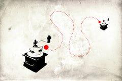 Wandspaßkunstentwurfs-Ideenwand Stockfotos