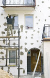 Wandverbesserung Stockfotografie