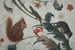 Wandweinlesemalerei Stockbilder