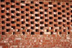 Wandziegelstein Stockbild