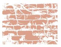 Wandziegelstein, grunge Hintergrund Lizenzfreies Stockfoto
