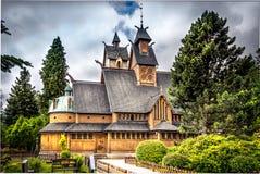 Wang教会在波兰在卡尔帕奇 图库摄影