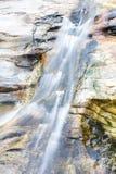 Wang Bua禁令瀑布在土井素贴Pui Nationnal公园, Chiangmai 免版税库存图片