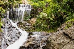 Wang Bua Ban-Wasserfall in Doi Suthep-Pui Nationnal Park, Chiang Stockbilder