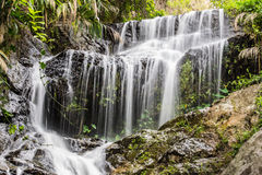 Wang Bua Ban waterfall  Stock Photo