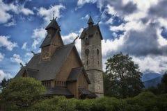 Wang Church. In Karpacz, Poland Stock Images