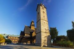 Wang church in Karpacz, Poland Royalty Free Stock Image