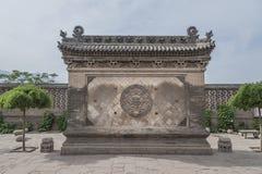 Wang Courtyard in Lingshi building Royalty Free Stock Photo