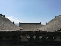 Wang Family Courtyard Rooftops. Wang Family Courtyard, Shanxi, China Stock Photography