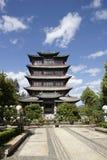 Wang Gu Lou Pagoda Lijiang lizenzfreies stockfoto