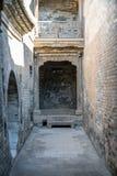 Wang jia podwórze, Shanxi prowincja, Chiny obrazy stock