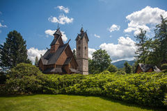 Wang-Kirche in Karpacz Lizenzfreies Stockbild