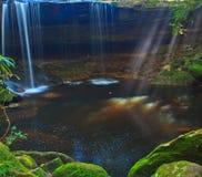 Wang Kwang vattenfall, Thailand Fotografering för Bildbyråer