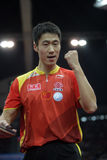 Wang Liqin (CHN) Royalty-vrije Stock Foto's
