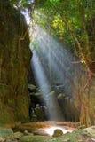 Wang Sao Thong waterfall Royalty Free Stock Photos