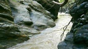 Wang Sila ist ein schöner Platz in Pua-Bezirk, Nan-Provinz, Thailand stock footage