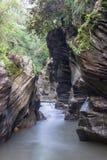 Wang Sila Laeng Grand Canyon i det Pua området Arkivfoto
