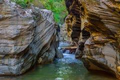 Wang Sila Lang Grand Canyon, Pua District, Nan en Thaïlande image stock