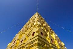 Wang Wiwekaram temple historic building with blue sky Stock Photos
