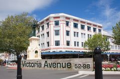 Wanganui,新西兰 免版税库存图片