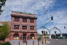 Wanganui central photographie stock