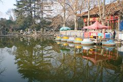 Wangcheng Park, Luoyang stock photos