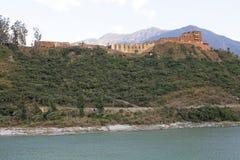 Wangdue Phodrang Dzong, Μπουτάν Στοκ Φωτογραφία