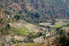 Wangdue Phodrang Valley, Bhutan Stock Photography
