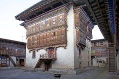 Wangduechhoeling Palace ruins, Bumthang, Bhutan Royalty Free Stock Photo
