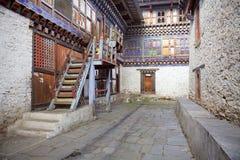Wangduechhoeling Palace ruins, Bumthang, Bhutan Stock Photos