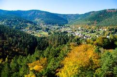 Wangenbourg-Engenthal Стоковое Изображение