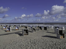 Wangerooge Royalty Free Stock Images