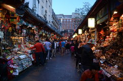 Wangfujing night market Royalty Free Stock Photo