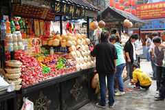 Wangfujing Snack street Stock Images