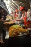 Wangfujing Snack Street in Beijing Royalty Free Stock Images